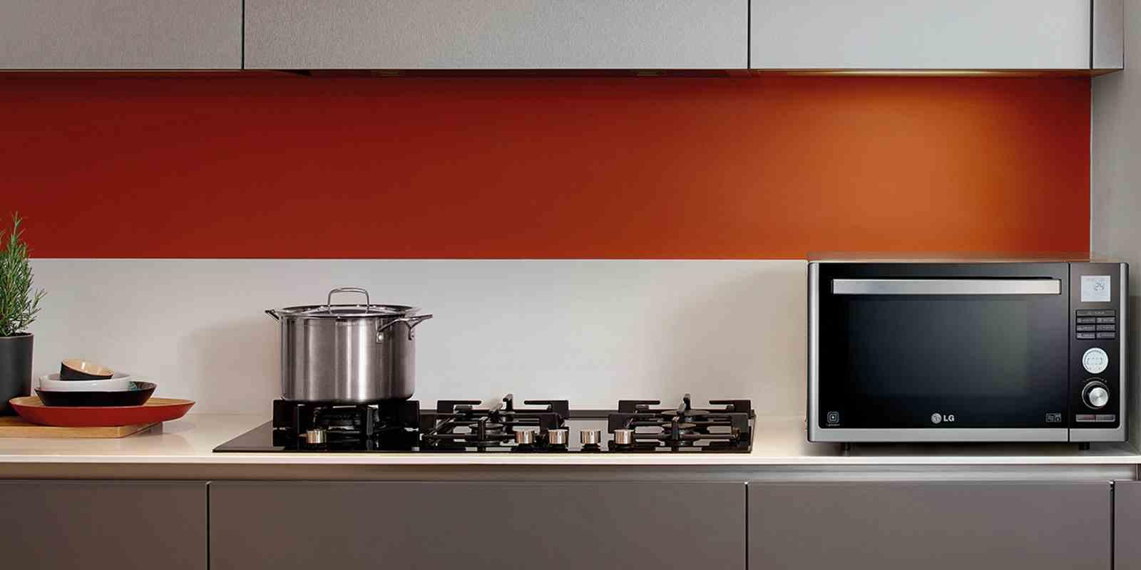 Mutfak için ev aletleri: artık mikrodalga fırın yapmak kolaydır
