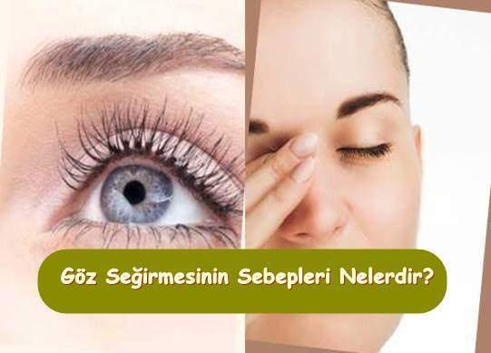 Göz Seğirmesi Blefarospazm Neden Olur? Sebepleri ve Tedavisi